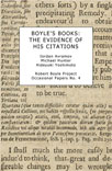 Boyle's Books: the Evidence of his Citations - thumbnail cover image