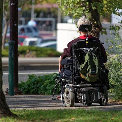Wheelchair-accessible accommodation